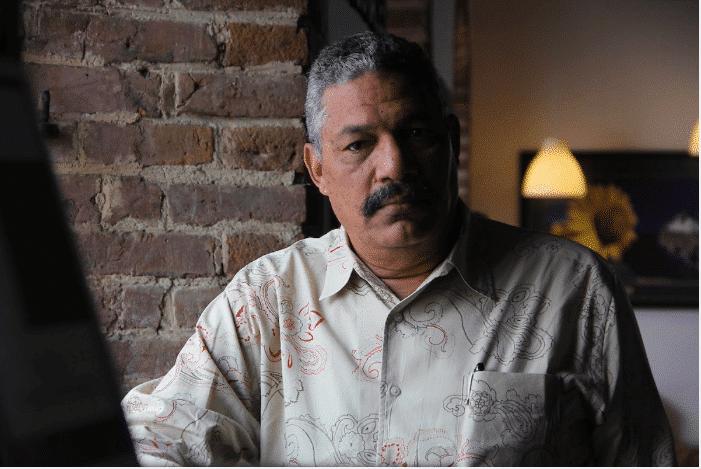 El escritor dominicano René Rodríguez Soriano