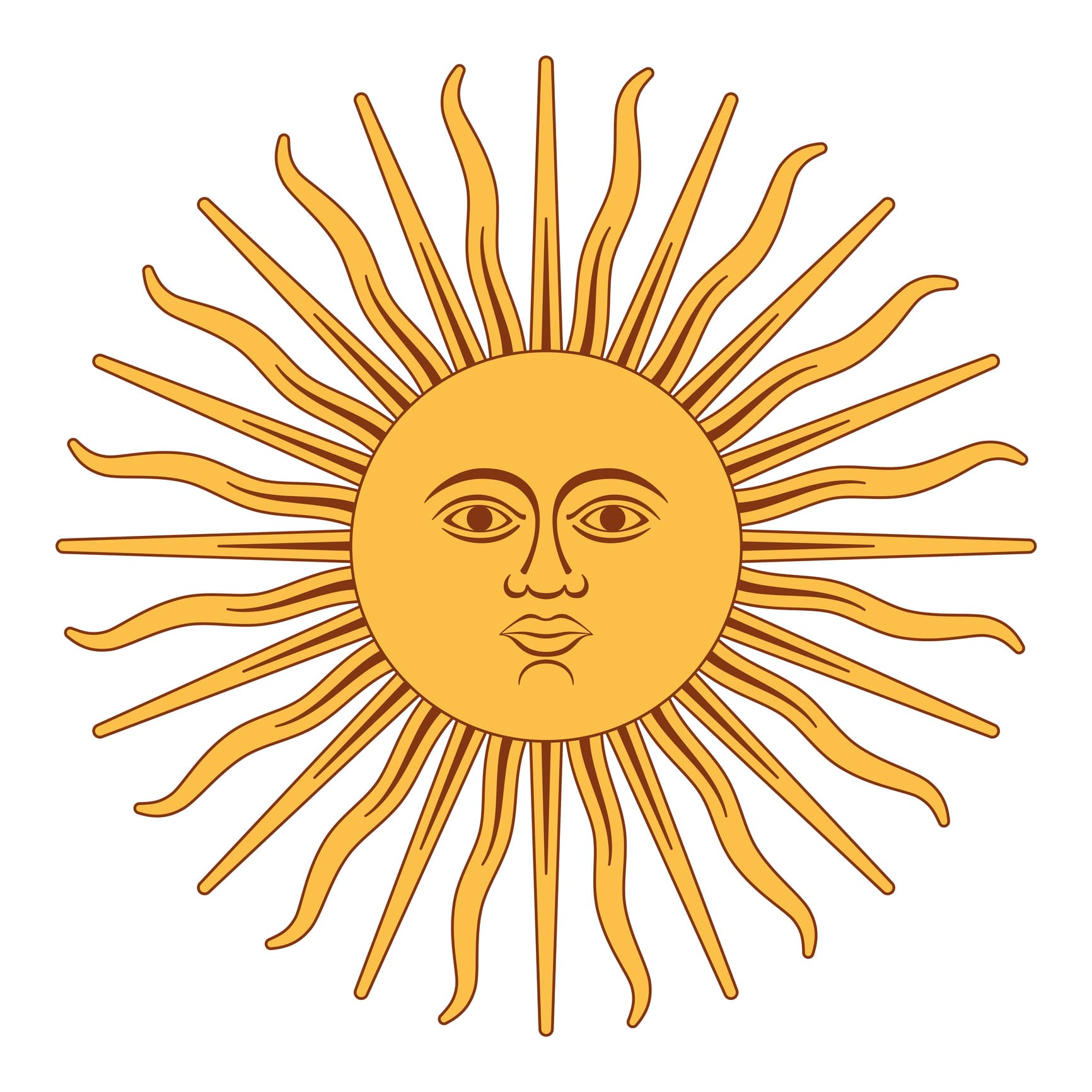 Sun of May, Sol de Mayo, Argentina